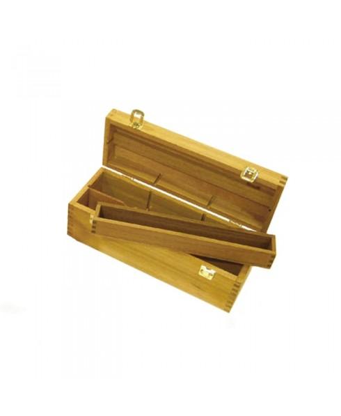 Caja de madera estudio Artist mediana 36x13x12,5 cm