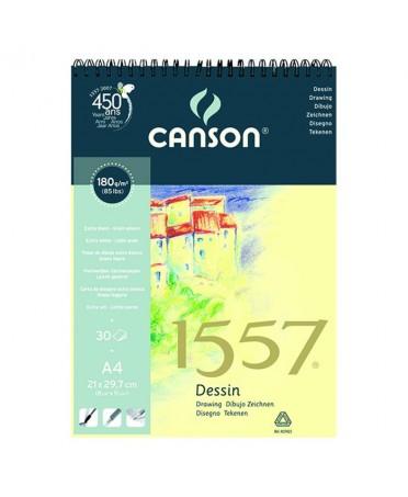 Bloc dibujo Canson JA 1557 encolados 1 lado 120 gramos