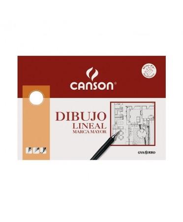 Pack dibujo lineal Guarro marca mayor 10 hojas 160 gramos