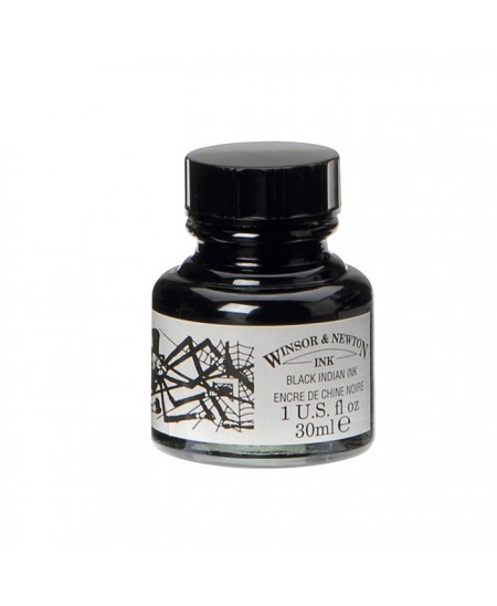 Tinta China Negra Winsor and Newton 30 ml
