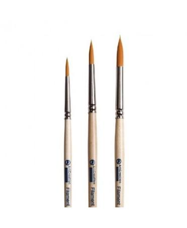 Set de 3 Pinceles Artcreation Filamento Nº 4 - 6 - 8