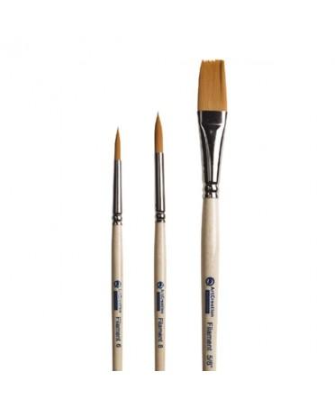 Set de 3 Pinceles Artcreation Filamento Nº 4 - 6 - 5/8