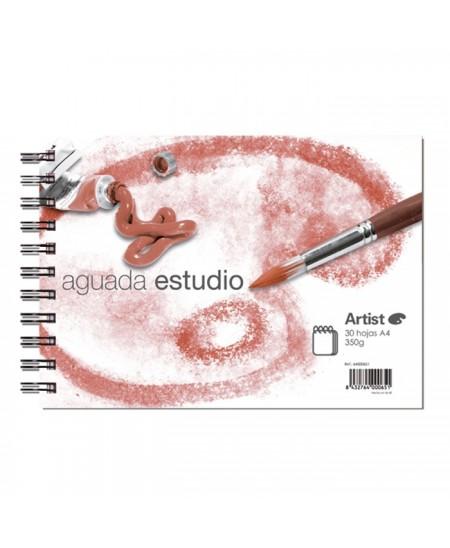 Bloc Artist aguada estudio acuarela A5 - 14.5x21 cm 30 hojas 350 gr