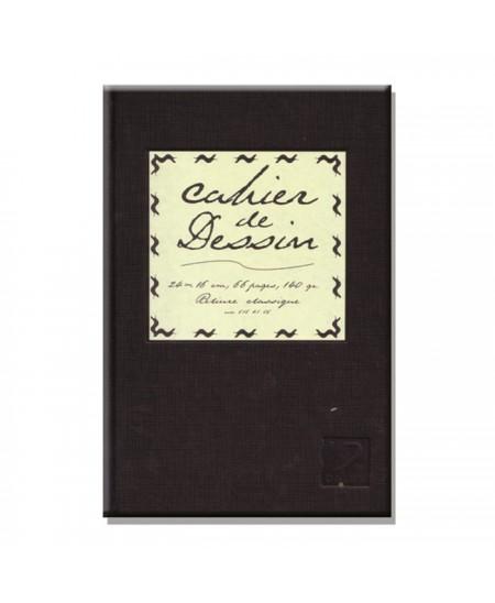 Cuaderno con tapas Cahier Dessin Dalbe 66 hojas