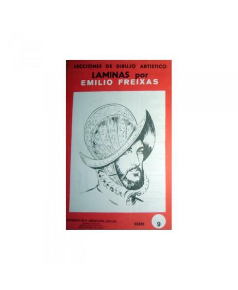 Serie Roja Emilio Freixas carpeta con 12 Laminas - Figuras