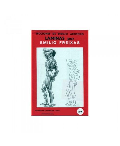 Serie Roja Emilio Freixas carpeta con 12 Laminas - Anatomía Masculina I