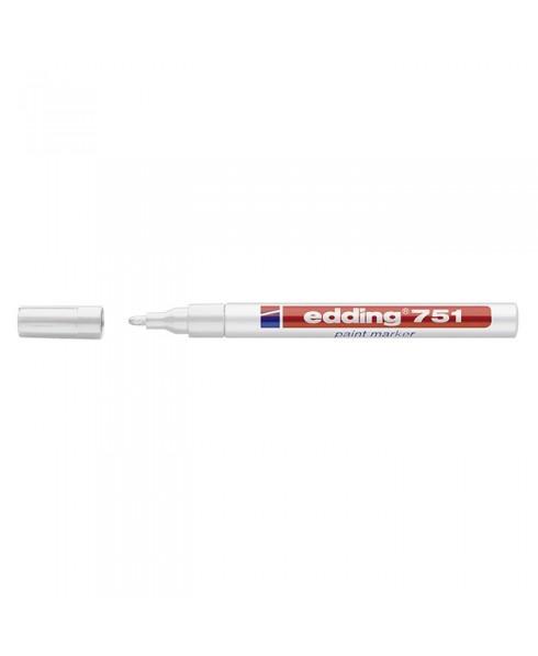 Rotulador Edding 751 efecto lacado de punta redonda de 1-2 mm