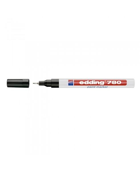 Rotulador Edding 780 efecto lacado de punta redonda 0.8 mm