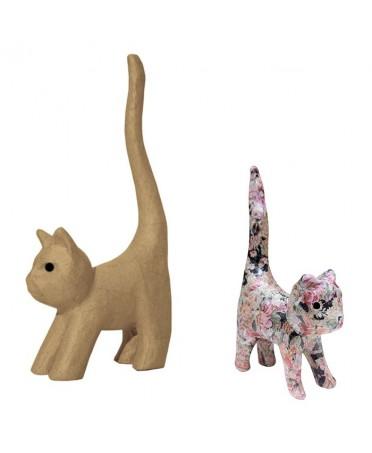 Gato para decorar 9.3x3.5x16.5 cm