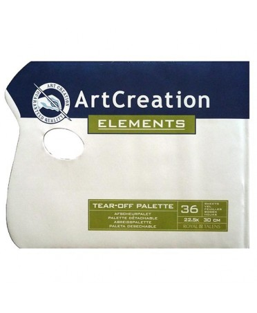 Set de 36 paletas Artcreation  22.5x30 cm
