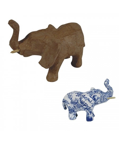 Elefante para decorar 5x11x8 cm