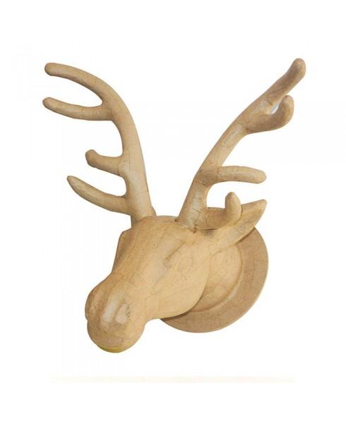 Cabeza de reno para decorar y colgar