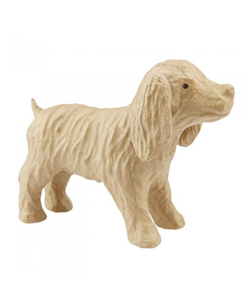 Perro Cocker para decorar 16 cm