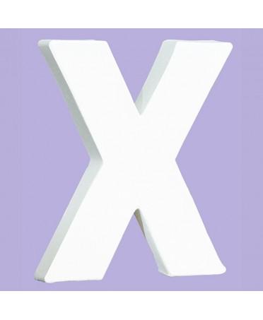 Letra blanca para decorar 1.5x12x10.5 cm
