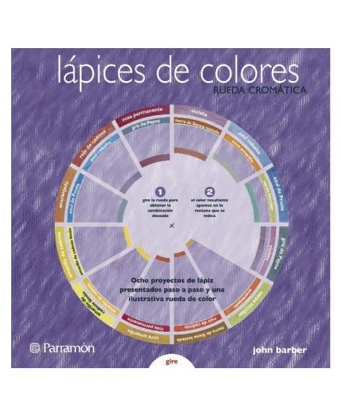 Rueda cromatica Parramon - Lapices de colores