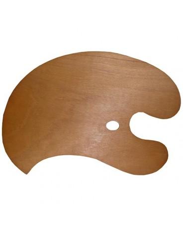 Paleta de madera gigante Talens 70x47 cm