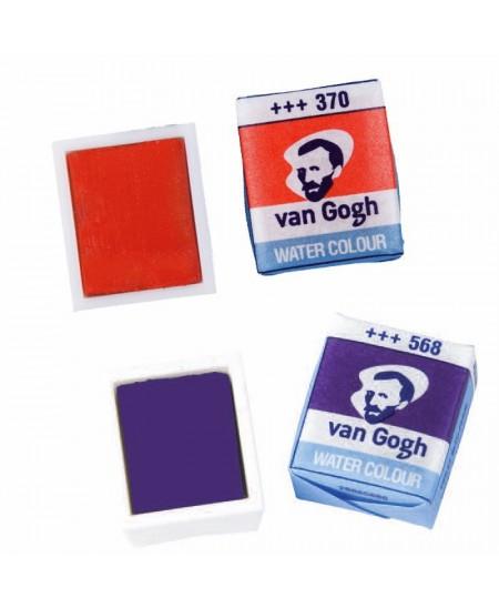 Godets acuarela Van Gogh colores sueltos