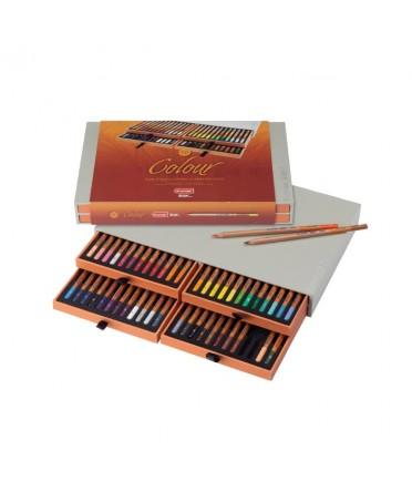 Caja Bruynzeel Design 48 Lapices Color