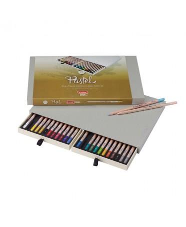 Caja Bruynzeel Design 24 Lapices Pastel