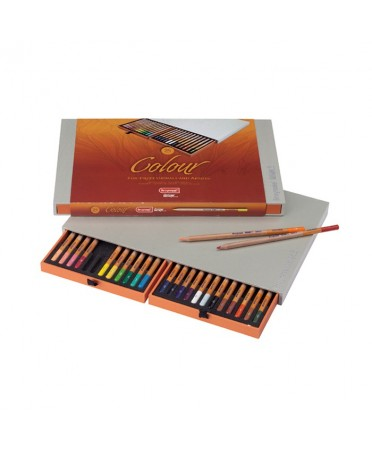 Caja Bruynzeel Design 24 Lapices Color