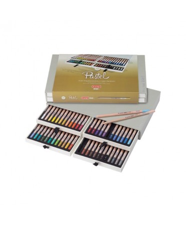 Caja Bruynzeel Design 48 Lapices Pastel