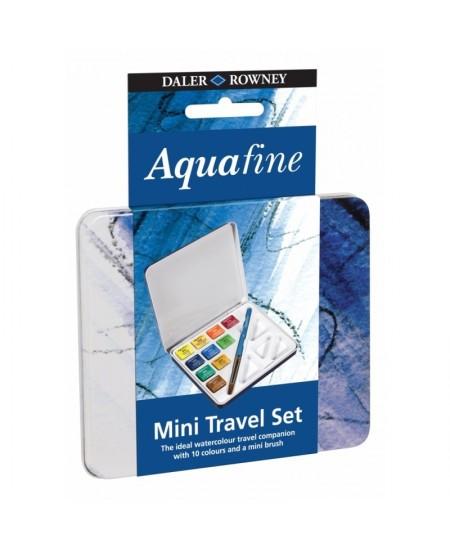 Caja Metalica Mini de Viaje Acuarela Aquafine