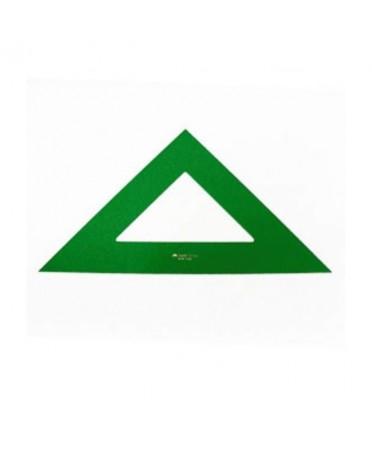 Escuadra verde Faber Castell 28cm