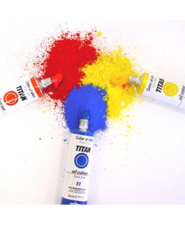 Tubos de oleo Titan Extra Fino colores sueltos