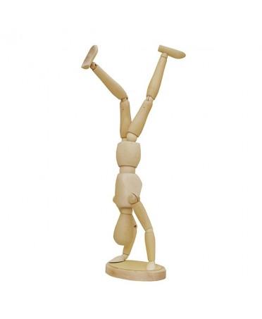 Maniqui imantado de madera Artist 30cm masculino