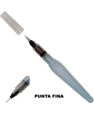 Pincel Rellenable de Agua Pentel Punta Fina 10 ml