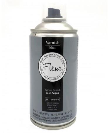 Barniz Acrilico Mate al Agua en Spray Fleur