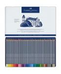 Estuche metálico Goldfaber Aqua de 36 lápices acuarelables Faber-Castell