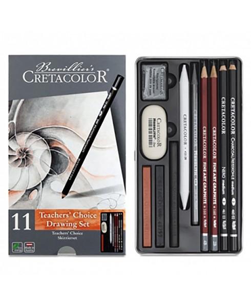 Estuche Dibujo TEACHER'S CHOICE 11 Piezas CRETACOLOR