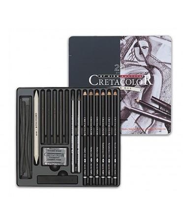 Caja Metal Dibujo BLACK BOX 40030 CRETACOLOR