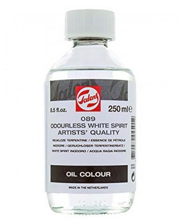Disolvente white spirit no olor Talens auxiliar para oleo 250 ml