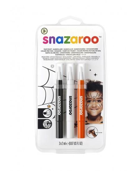 Set 3 rotuladores maquillaje Halloween Snazaroo