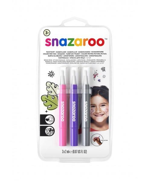 Set 3 rotuladores maquillaje Fantasia Snazaroo
