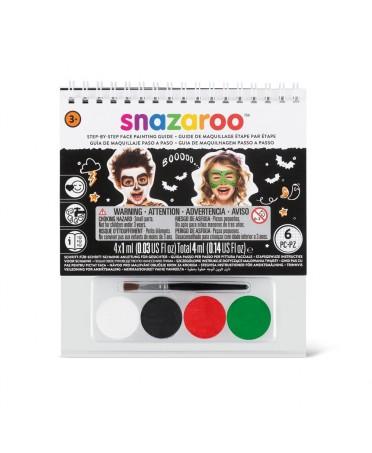 Set guia maquillaje Halloween Snazaroo