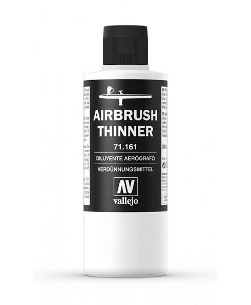 Diluyente para aerográfo Airbrush Thinner 161 Vallejo 200 ml.