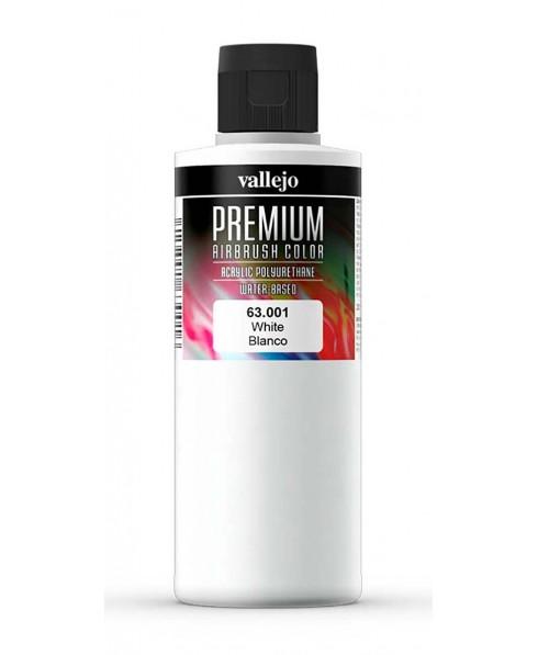 Acrílico Premium blanco 001Vallejo 200 ml