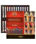 Caja 24 pasteles suaves KOH-I-NOOR TOISON D'OR