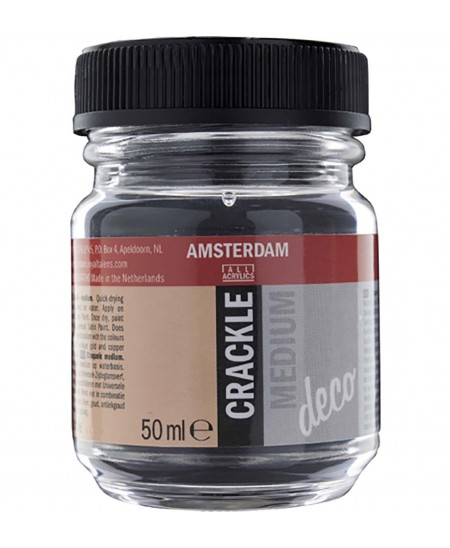 Medium Craquelador Amsterdam 50 ml