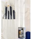 Tubo de 6 pinceles, espátula y porta pinceles para óleo y acrílico Van Gogh