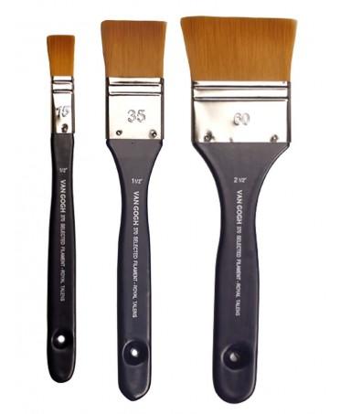 Set de tres paletinas fibra poliéster Toray S370 Van Gogh
