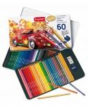 Estuche métalico lápices colores Escarabajo 60 Bruynzeel