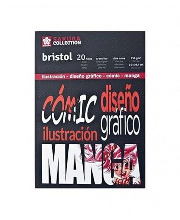 Bloc Manga Bristol Sakura