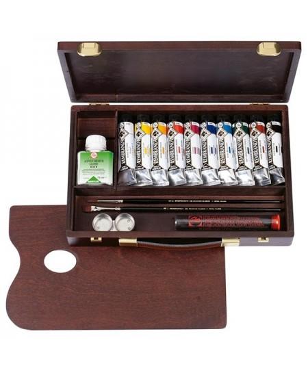 Caja de acrilicos rembrandt traditional