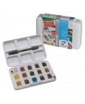 Caja Acuarela Van Gogh Pocket 12+3 Pastillas