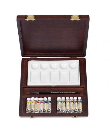 Caja de acuarelas rembrandt traditional