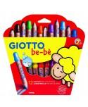 Estuche 12 Súper Lápices de Colores para niños Giotto be-bè